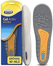 Scholl GelActiv Einlegesohlen Work für Arbeitsschuhe in 40-46,5 – Für stark beanspruchte Füße – 1 Paar Gelsohl