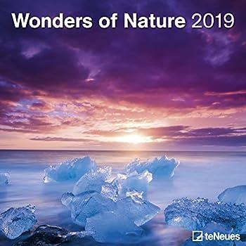 Wonders Of Nature 2019 Broschürenkalender [Lingua Olandese]