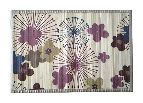 8 modelos 4 medidas de alfombras de bambú anti-deslizante para salón