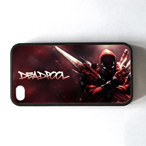 Marvel Comics GPO Gruppe Exklusive, Marvel Superhelden Apple iPhone 4 Deadpool Design, iPhone 4s Phonecase Hartschale aus Gummi