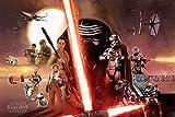 empireposter Star Wars - EP7 Galaxy - Größe (cm), ca. 91,5x61 - Poster, NEU -