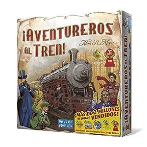 Days of Wonder- Aventureros al Tren - Español, Talla Única (DW7281)