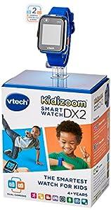 VTech Kidizoom Smart Watch DX2 - Reloj Inteligente para niños, Color Azul, versión Inglesa (193803)