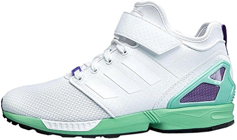 adidas Originals ZX Flux NPS Mid B34460 Damen Schuhe Sneaker Freizeit Turnschuhe Weiß