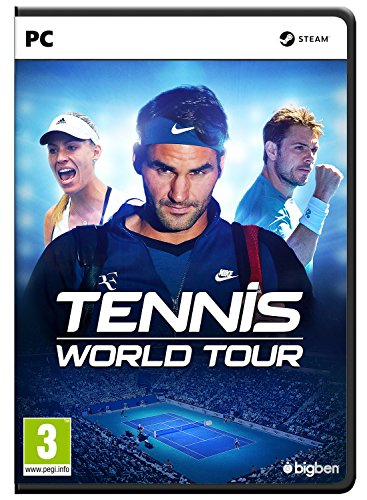 Tennis World Tour (PC DVD) Best Price and Cheapest