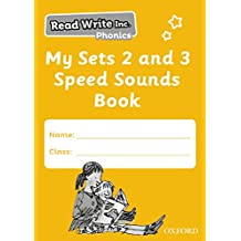Read Write Inc. Phonics: My Sets 2 and 3 Speed Sounds Book Pack of 5