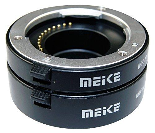 Meike Zwischenring-Set 10mm / 16mm für Maktrofotograhie passend für Sony E-Mount Macro Extension Tube