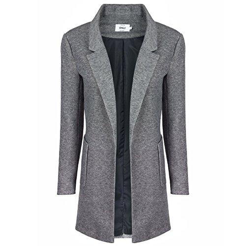 ONLY Damen Sweat Blazer, Farbe:hellgrau;Größe:L
