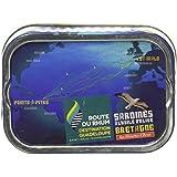 Les Mouettes d'Arvor Sardines Route du Rhum 115 g -...