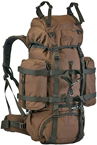 Wisport Original WiSPORT Reindeer Hunt Rucksack 55 Liter | Cordura | Militär | Wandern | Outdoor | Camping | Jagen | Fischen, Tarnung:Brown