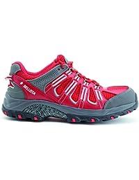 Bellota Trail S1P - Zapatos (talla 42) color rojo
