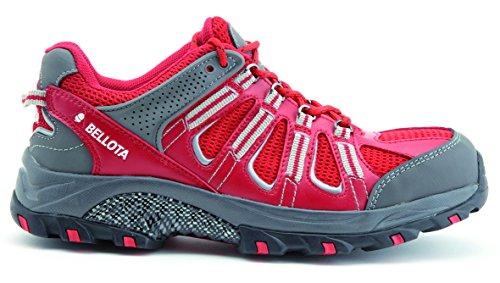 Bellota 72211R-42 Zapato Trail Rojo S1P, Talla 42