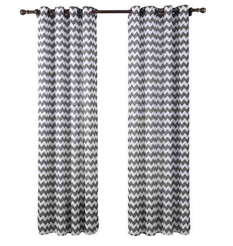 Yiyida Verdunkelungs Gardinen Ösen Vorhang Streifendruck Dekoration Blickdicht Gardinen 140x220 cm 2er set (Multi Star Öse)