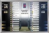 Ligue Nationale de Rugby - Tableau magnétique de classement TOP 14 & PRO D2 saison 2017/18...