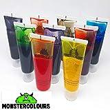 colorant alimentaire liquide - Chaque couleur poids net 9 x 25ml