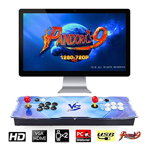 【Arcade Game Console 1500】 Pandora Box 9 1500 Juegos Retro Consola maquina recreativa Arcade Video Gamepad VGA/HDMI/USB