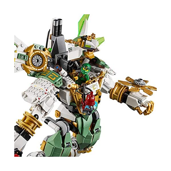 LEGO NINJAGO IlMechTitanodiLloyd, Figura d'Azione, Playset Maestri dello Spinjitzu, 70676 3 spesavip