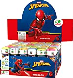 "Bolle di Sapone ""Ultimate Spiderman"" Marvel - Display con 36 pezzi"