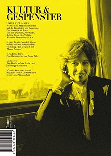 Kultur & Gespenster / Unter vier Augen (Kultur und Gespenster / Textem-Magazin)