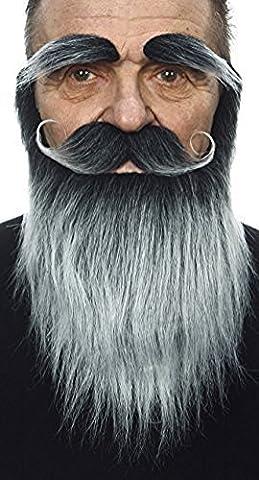 Wizard beard, moustache and eyebrows