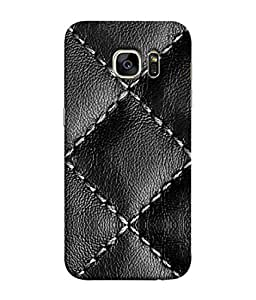 PrintVisa Designer Back Case Cover for Samsung Galaxy S7 Edge :: Samsung Galaxy S7 Edge Duos :: Samsung Galaxy S7 Edge G935F G935 G935Fd (Leather Make Seat Cover Sofa Decorative Design)