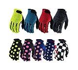 Blisfille Handschuhe Fahrrad Damen Fahrrad Reithandschuhe Off Road Mountainbike Motorradfahrer Outdoor Ausrüstung Bunte Sport Rennhandschuhe