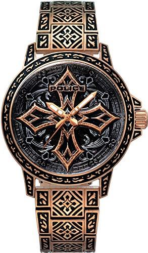 Police Watch Cross 2 PL15530JSR.78M Montre-Bracelet pour Hommes