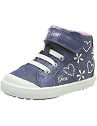 Geox Kids' Kilwi Girl 8 Sneaker