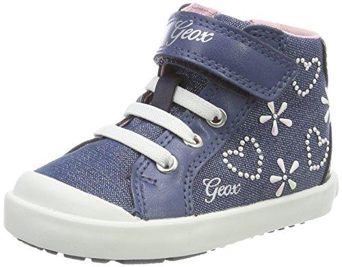 Geox Baby Mädchen B Kilwi Girl E Sneaker, Blau (Avio), 23 EU