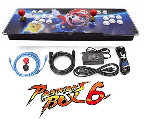 Theoutlettablet@ - Pandora Box 6s 1388 Retro Videospielkonsole Arcade Video Gamepad VGA/HDMI / USB - - Tv-novedades