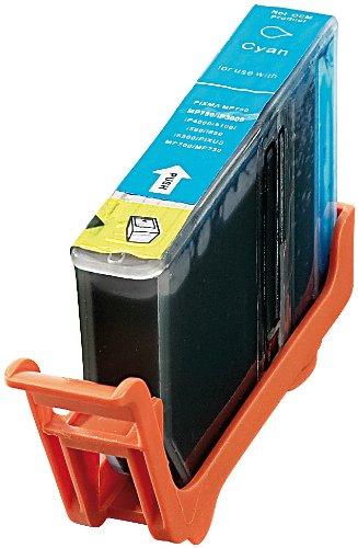 Preisvergleich Produktbild iColor Druckerpatronen: Patrone für CANON (ersetzt BCI-3C/BCI-6C), cyan (Druckerpatronen Canon)