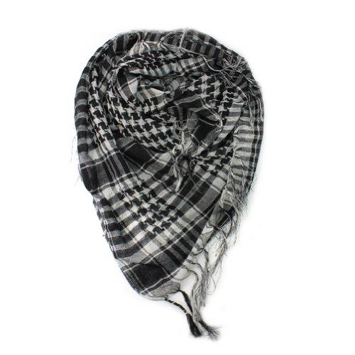 1 x Nuevo Pañuelo Bufanda Mantón Cuadros Árabe Regalo Moda para Mujer Hombre