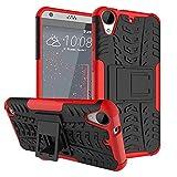 Tianyan Coque HTC Desire 530 Armor Séries Silicone Antichoc avec Béquille Etui...