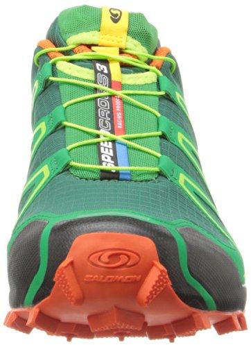 Salomon Speedcross 3, Chaussures de Running Compétition Homme green
