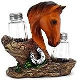 3D Horse Themed Salt & Pepper Table Set