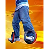 Roller Orbite wheel mono patin waveboard grande roue entre le skateboard et rollers