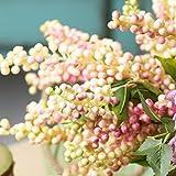 Künstliche Cranberry Beere Künstliche dekorative Früchte, rosa
