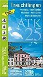 ATK25-J08 Treuchtlingen (Amtliche Topographische Karte 1:25000): Wemding, Wolferstadt, Monheim, Heidenheim, Markt Berolzheim (ATK25 Amtliche Topographische Karte 1:25000 Bayern)