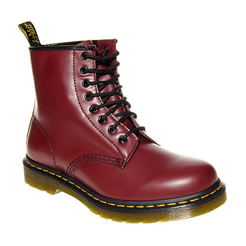 dr-martens-1460-smoth-unisex-cherry-boots-size-6-uk