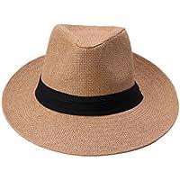 Easy Go Shopping Sombreros de Paja Sombreros de Mujer Sombreros de Paja de  Verano Sombreros Sombreros fd27969d5808