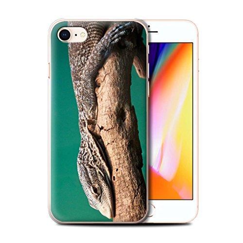 Coque de Stuff4 / Coque pour Apple iPhone X/10 / Loup Design / Animaux sauvages Collection Lézard
