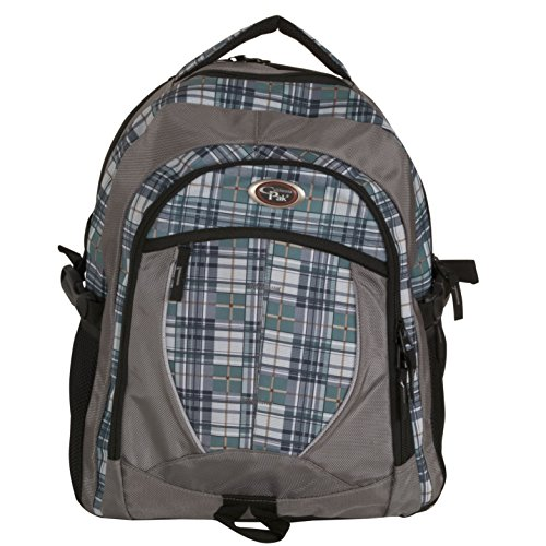 calpak-north-shore-olive-plaid-18-inch-deluxe-backpack-with-laptop-compartment
