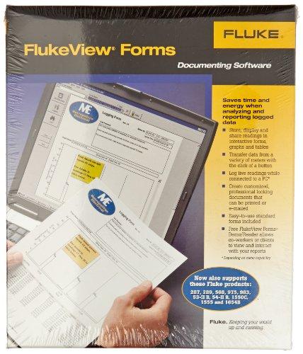 Fluke industriel fvf-sc4View formes Logiciel et câble, 8845A/8846A