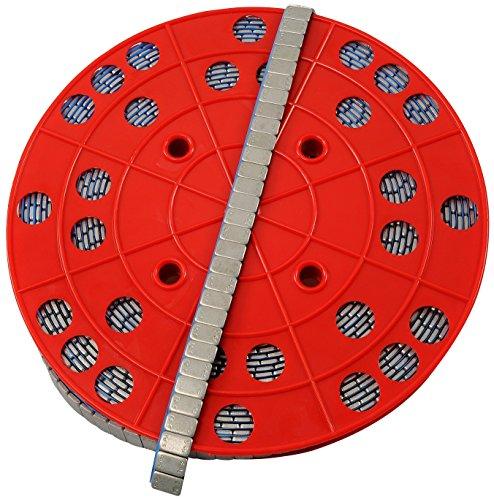 Preisvergleich Produktbild 6KG ROLLE Auswuchtgewichte Klebegewichte ZINK Stahlgewichte 1200x5g 12x5g Kleberiegel mit ABRISSKANTE