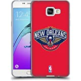 Officiel NBA Plaine New Orleans Pelicans Étui Coque en Gel molle pour Samsung Galaxy A5 (2016)