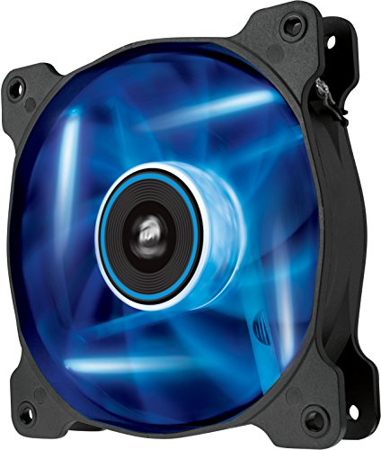 Corsair SP120 LED PC-Gehäuselüfter (120mm, Leise, Hoher Luftdurchsatz, blau LED, Single Pack)