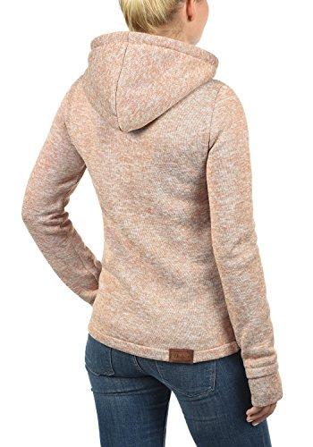 DESIRES Thory Damen Fleecejacke Sweatjacke Jacke Mit Kapuze Und Daumenlöcher, Größe:M, Farbe:Ma. Rose M (4203M) - 3