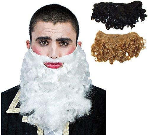 Barba de Rey Mago en varios colores