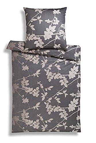 Estella lenzuola di raso Tasso cioccolato 1X 80X 80+ 1x 155x 220cm
