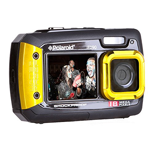 Yellow : Polaroid Ie090-yel Waterproof Digital Camera With 2.7